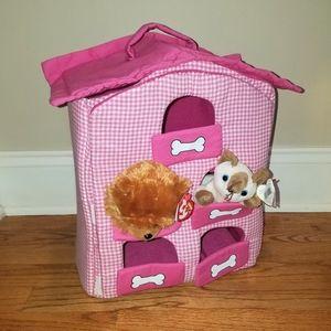 Lillian Vernon dog hotel/house for stuffed pets